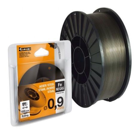 Fil fourré diamètre 0,9 - bobine plastique S100
